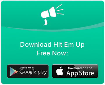 Sending A BCC Text Message with your iPhone or Android Phone is easy with Hit Em Up! Try it Free!